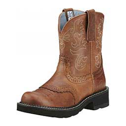 """Fatbaby Saddle 8"""" Cowgirl Boots Ariat"""