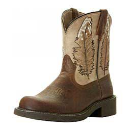 """8"""" Womens Fatbaby Heritage Feather Western Boot Ariat"""