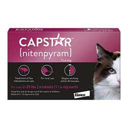 Capstar Flea Tablets for Cats Elanco Animal Health