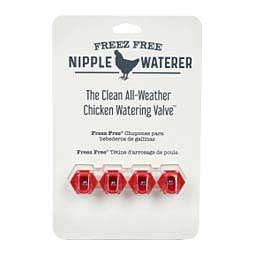 Freez Free Poultry Nipple Valves ChickenWaterer