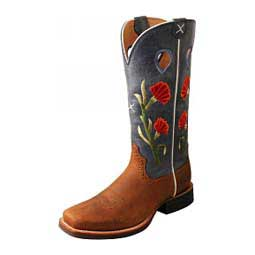 """Ruff Stock 13"""" Cowgirl Boots Twisted X"""