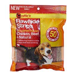 Beefhide Chews Value Pack Ruffin' It