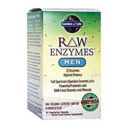 Raw Enzymes for Men Garden Of Life