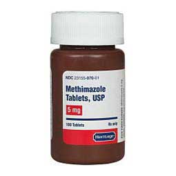 Methimazole for Cats  Generic (brand may vary)