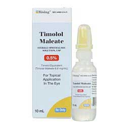 Timolol Maleate Ophthalmic Solution 0.5% for Animal Use Generic (brand my vary)