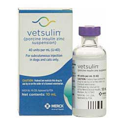 Vetsulin Insulin for Dogs and Cats Merck