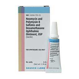 Neo-Poly-Dex Ophthalmic Ointment for Dogs and Cats