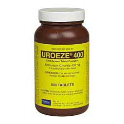 Uroeze Tablets for Dogs and Cats Virbac