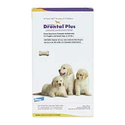 Drontal Plus Taste Tabs for Dogs Bayer