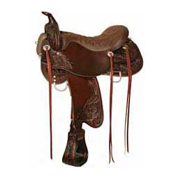 291 Meadow Creek Western Trail Horse Saddle Tucker Saddlery