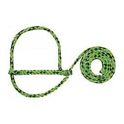 Poly Rope Sheep Halter Lime/Black/Gray - Item # 10012