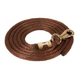 Braided Rope Horse Lead Brown - Item # 10954