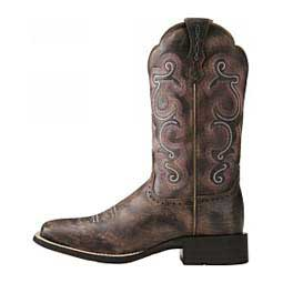 Quickdraw Cowgirl Boots Chocolate - Item # 11102