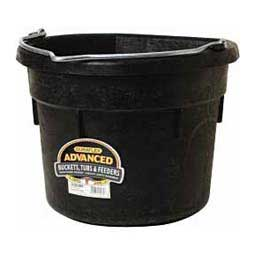 Rubber Flat Side Bucket 18 qt - Item # 11374