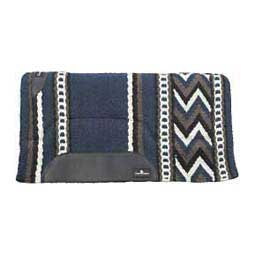 Sensorflex Classic Wool Felt Saddle Pad Navy/White - Item # 11555