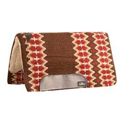 Sensorflex Wool Felt Horse Saddle Pad Chestnut Red - Item # 11555