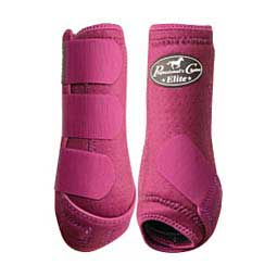 SMB VenTech Elite Support Horse Boots Value Pack Wine - Item # 11811