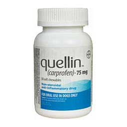 Quellin Carprofen for Dogs (compares to Rimadyl) 75 mg 30 ct - Item # 1236RX