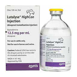Lutalyse HighCon for Cattle 100 ml 50 ds - Item # 1280RX