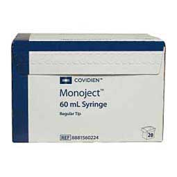 Disposable Syringes without Needles 20 ct (60 cc) - Item # 12970