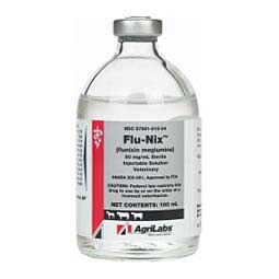 Flu-Nix Flunixin Meglumine Injectable Solution 50 mg/ml, 100 ml - Item # 1323RX