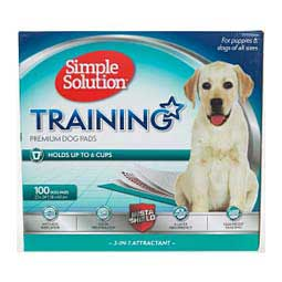 Simple Solution Puppy Training Pads 100 ct (23'' x 24'') - Item # 14374