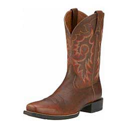 "Mens Heritage Reinsman 11"" Cowboy Boots Brown Rowdy - Item # 14575"