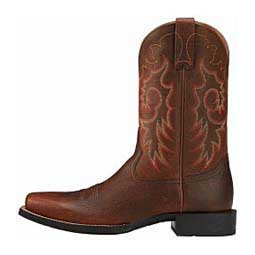 "Heritage Reinsman 11"" Cowboy Boots Brown Rowdy - Item # 14575"