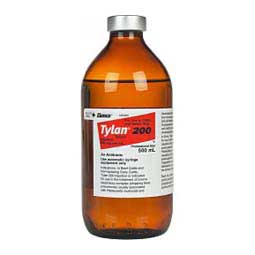 Tylan 200 Tylosin for Cattle & Swine 500 ml (California Rx Only) - Item # 1467RX