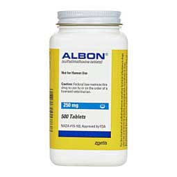 Albon for Dogs & Cats 250 mg 500 ct - Item # 146RX