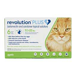 Revolution Plus for Cats 11.1-22 lbs (6 ct) - Item # 1508RX
