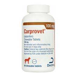 Carprovet Chewable Tablets for Dogs 100 mg 60 ct - Item # 1537RX
