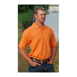 Short Sleeve Mens Polo Shirt Tangerine - Item # 15442