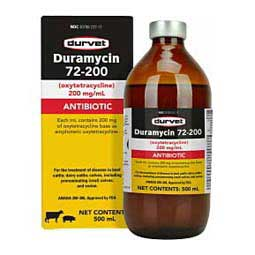 Duramycin 72-200 for Livestock 500 ml - Item # 1544RX