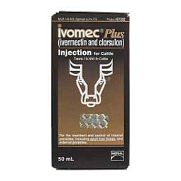 Ivomec Plus for Cattle 50 ml - Item # 16528