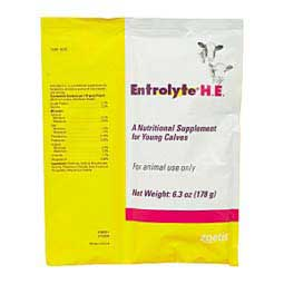 Entrolyte H.E. Nutritional Supplement for Young Calves 178 gm - Item # 16700