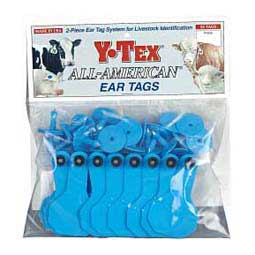 Blank Small Cattle ID Ear Tags Y-Tex