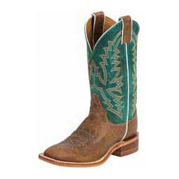 Turquoise/America Burnished Tan 11