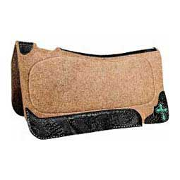 Serenity Cross X Series Wool Felt Contour Roper Saddle Pad