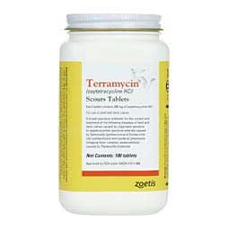 100 ct Terramycin Scour Tablets
