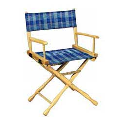 Directors Chair - Classic Plaid Blue Ice Plaid - Item # 19511