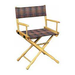 Directors Chair - Classic Plaid Black Plaid - Item # 19511