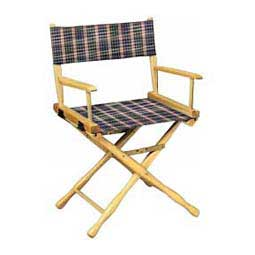 Plum Plaid Directors Chair - Classic Plaid