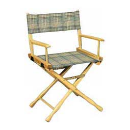 Mint Plaid Directors Chair - Classic Plaid