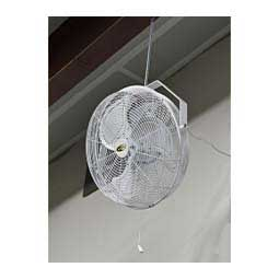 "18"" Outdoor or Indoor Waterproof Livestock or Barn Fan White - Item # 19533"