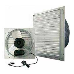 Indoor/Outdoor Shutter Barn Fan 12'' - Item # 19548