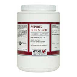 Aspirin Bolus for Animal Use 480 grain/50 ct - Item # 22128