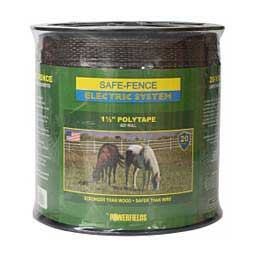 Safe-Fence Electric System 1 1/2'' Poly Tape Brown 825' - Item # 22305
