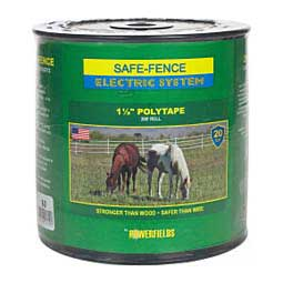 Safe-Fence Electric System 1 1/2'' Poly Tape Black 200' - Item # 22424