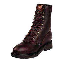 Briar Pitstop Mens Lacer Steel Toe Cowboy Boots